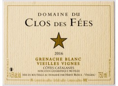 Vieilles Vignes 2016 Blanc