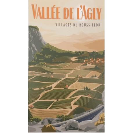 Affiche Vallée de l'Agly