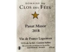 Passat Minor 2018 - Carton de 6 bouteilles de 0,375 CL